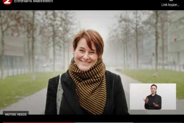 Screenshot vom Video Ehrenamt